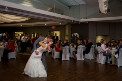 TKO Entertainment wedding reception at Woodeside Event Center