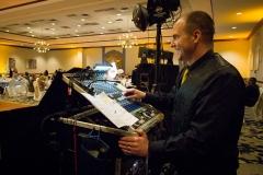 TKO Entertainment wedding reception Embassy Suites Rockside