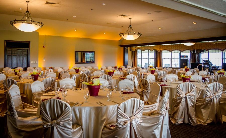 Outdoor Summer Wedding Ceremony Ballroom Reception At Fox Meadow