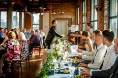 Wedding reception at Ariel International Event Center in Cleveland, Ohio.
