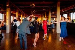 Wedding reception at Ariel International Event Center in Cleveland, Ohio