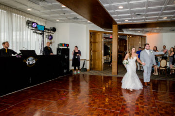 Wedding reception at Lake Forest Country Club